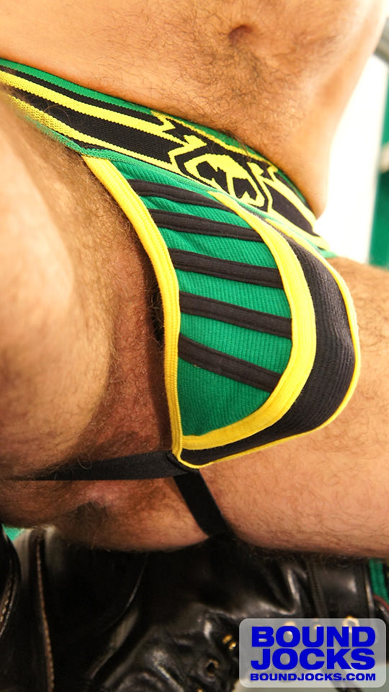 BoundJocks-Bound-jock-Dirk-Caber-hog-tied-jock-strap-vibrating-nipple-clamps-naked-weight-hangs-balls-pain-cums-cumshot-BDSM-009-gay-porn-sex-gallery-pics-video-photo