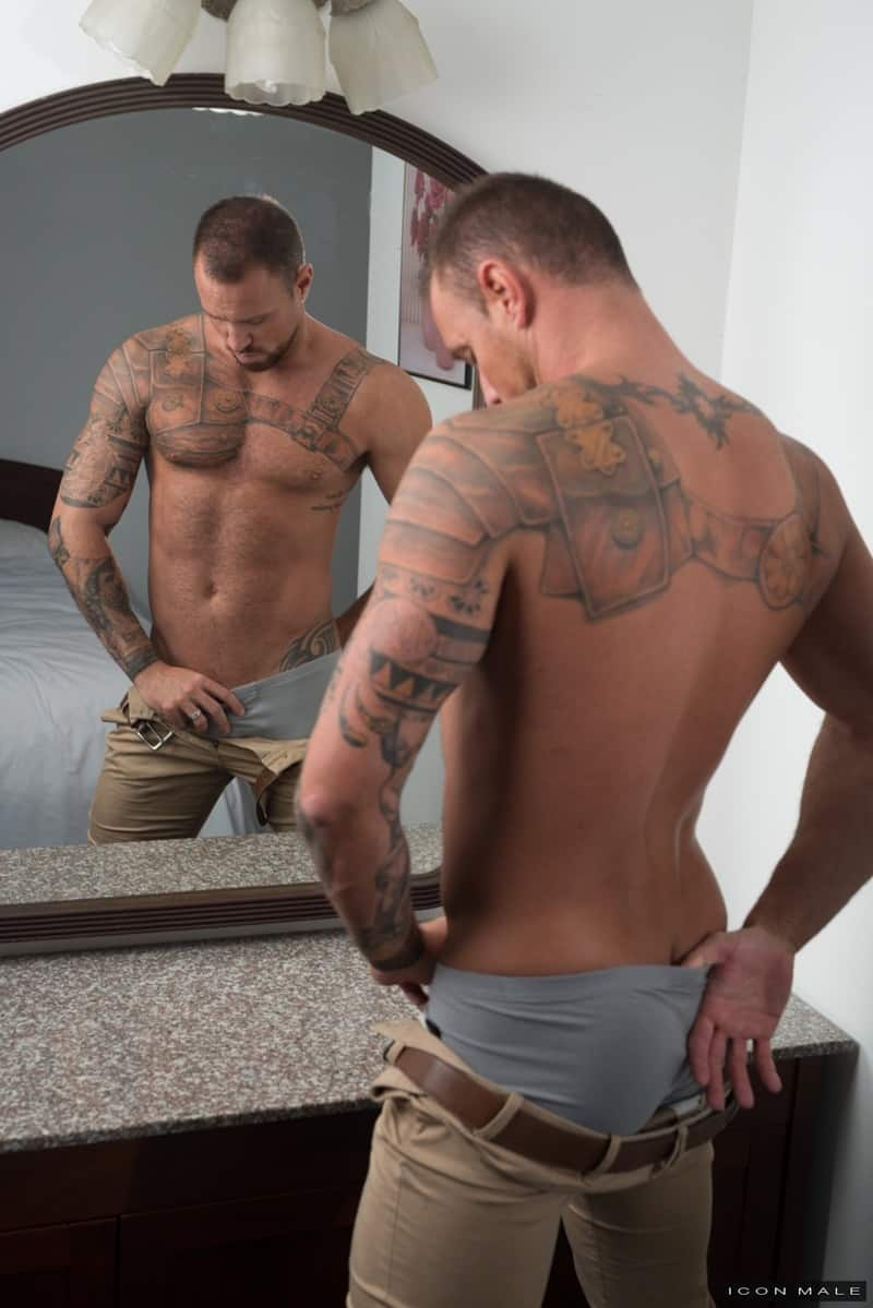 Two Hot Muscle Daddies Jaxton Wheeler And Michael Roman -2389