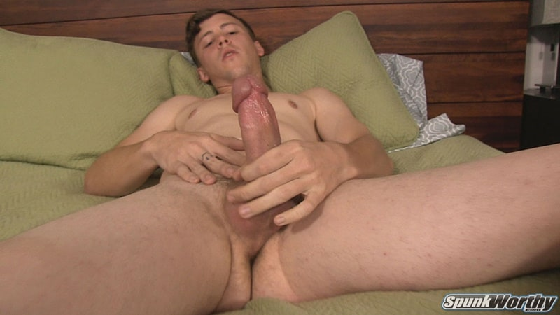 All American young dude Nolan gets a happy ending big cock massage