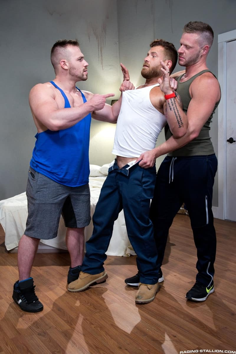 Men for Men Blog RagingStallion-Blake-Hunter-cock-Riley-Mitchell-deep-throat-Brian-Bonds-spit-roast-tatted-hunk-009-gay-porn-pictures-gallery With Blake Hunter's cock down Riley Mitchell's throat Brian Bonds slides his shaft deep into Riley's crack to spit-roast the tatted hunk Raging Stallion  tongue Streaming Gay Movies Smooth raging stallion premium gay sites Porn Gay jockstrap jock Hot Gay Porn hole HIS gay video on demand gay vid gay streaming movies Gay Porn Videos Gay Porn Tube Gay Porn Blog Free Gay Porn Videos Free Gay Porn face Cock cheeks cheek ass