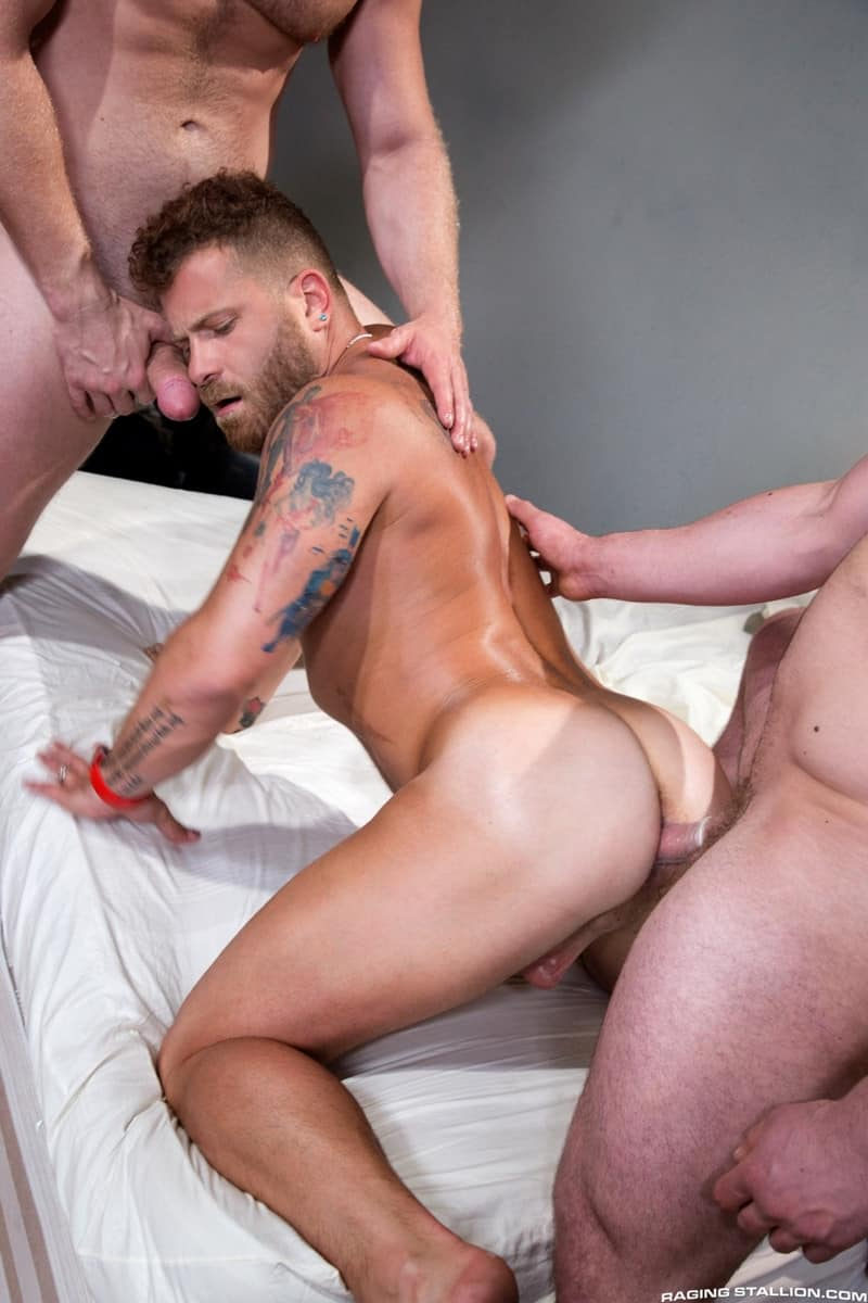 Men for Men Blog RagingStallion-Blake-Hunter-cock-Riley-Mitchell-deep-throat-Brian-Bonds-spit-roast-tatted-hunk-012-gay-porn-pictures-gallery With Blake Hunter's cock down Riley Mitchell's throat Brian Bonds slides his shaft deep into Riley's crack to spit-roast the tatted hunk Raging Stallion  tongue Streaming Gay Movies Smooth raging stallion premium gay sites Porn Gay jockstrap jock Hot Gay Porn hole HIS gay video on demand gay vid gay streaming movies Gay Porn Videos Gay Porn Tube Gay Porn Blog Free Gay Porn Videos Free Gay Porn face Cock cheeks cheek ass