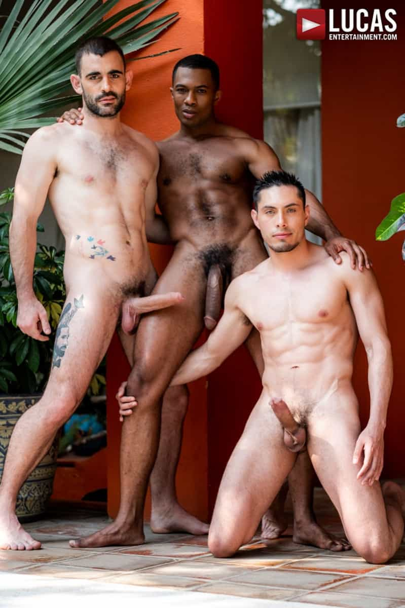 Men for Men Blog Ashton-Labruce-Sean-Xavier-Boy-Friend-Max-Arion-anal-fucked-huge-11-inch-cock-LucasEntertainment-011-gay-porn-pictures-gallery Ashton Labruce sits watching and stroking while BF Max Arion fucks black beauty Sean Xavier hot asshole Lucas Entertainment