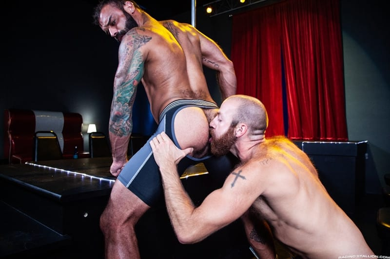 Men for Men Blog James-Stevens-Drake-Masters-hot-tattooed-big-muscle-dudes-cocksucking-huge-throbbing-cock-RagingStallion-011-gay-porn-pictures-gallery James Stevens loves the way Drake Masters' mouth feels wrapped around his huge throbbing cock Raging Stallion