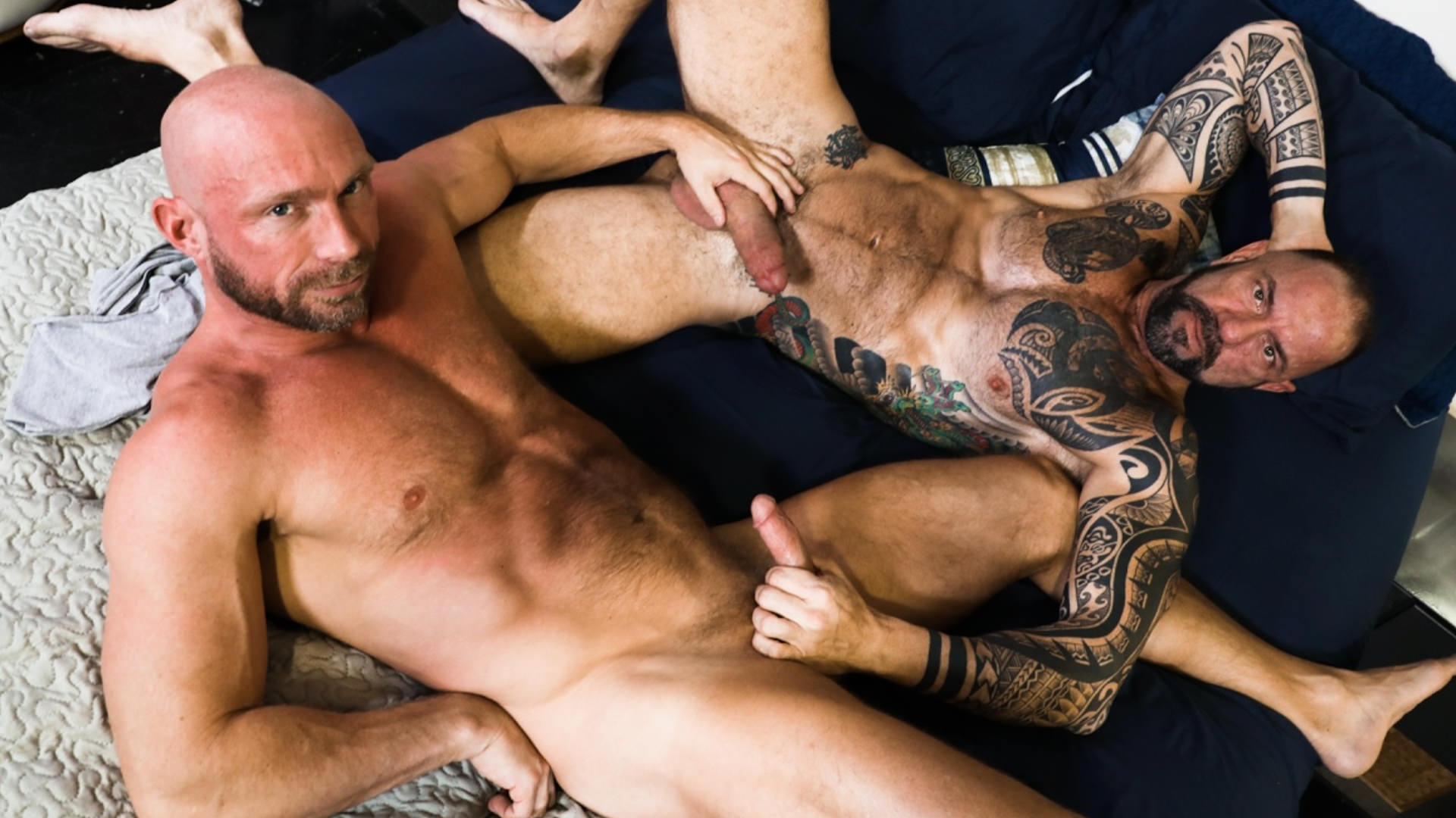 Men for Men Blog 74497_01_01 Hairy hunks fucking Vic Rocco drives his big cock deep inside Killian Knox's smooth bubble ass Extra Big Dicks
