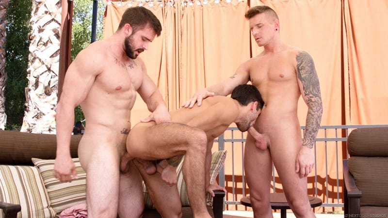 Men for Men Blog Gunner-and-Mathias-Ty-Mitchell-gay-porn-threesome-bareback-fucking-hot-little-hole-NextDoorStudios-010-gay-porn-pics-gallery Gunner and Mathias taking turns bareback fucking Ty Mitchell's hot little hole Next Door World