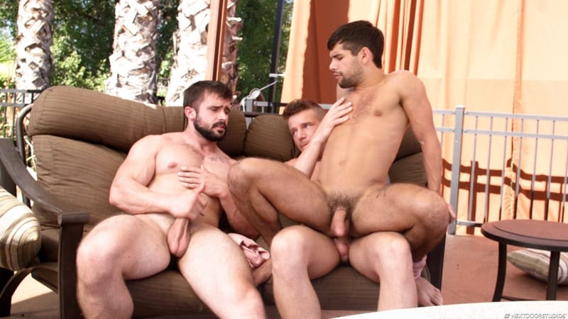 Men for Men Blog Gunner-and-Mathias-Ty-Mitchell-gay-porn-threesome-bareback-fucking-hot-little-hole-NextDoorStudios-012-gay-porn-pics-gallery Gunner and Mathias taking turns bareback fucking Ty Mitchell's hot little hole Next Door World