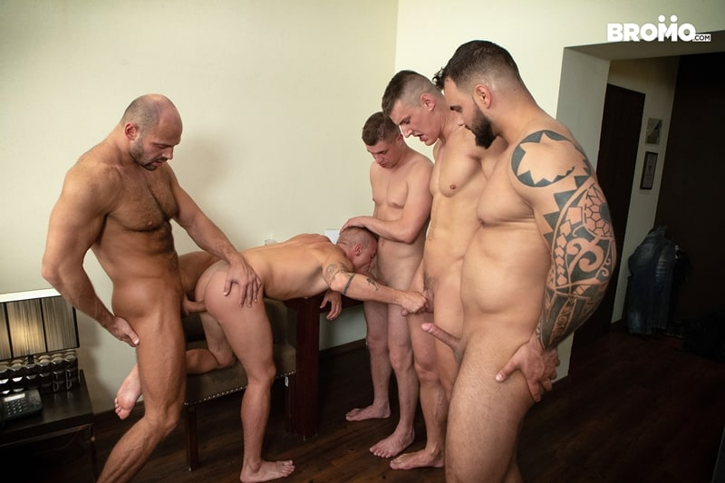 Bromo-Hot-naked-sub-dude-four-masked-men-bareback-fucking-ass-holes-012-gay-porn-pictures-gallery
