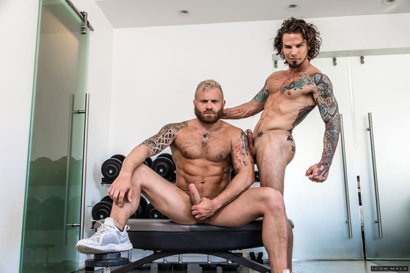 IconMale-Tattooed-young-stud-Archer-Croft-hot-ass-fucked-hard-older-muscle-guy-Riley-Mitchell-huge-cock-004-Gay-Porn-Pics