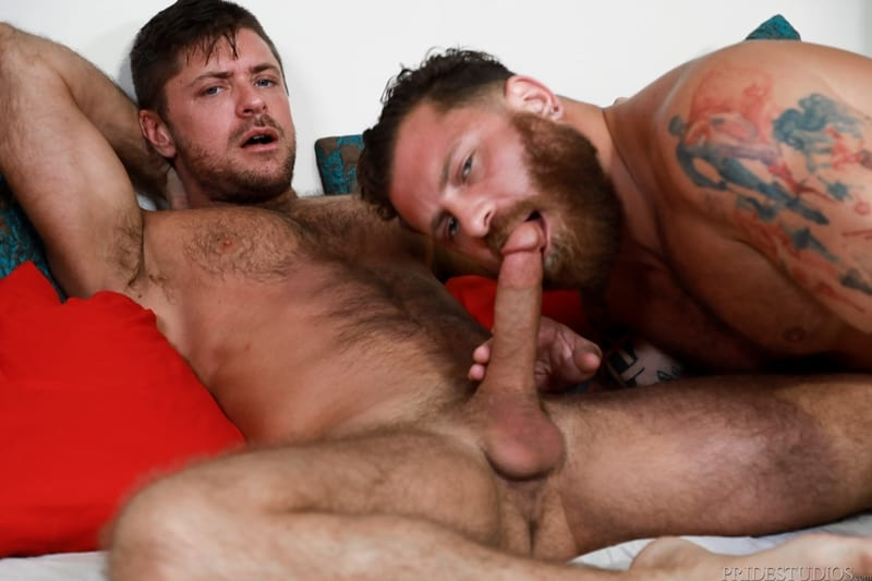 Hottie Young Stud Jack Andy Eases His Big Cock Balls Deep Into