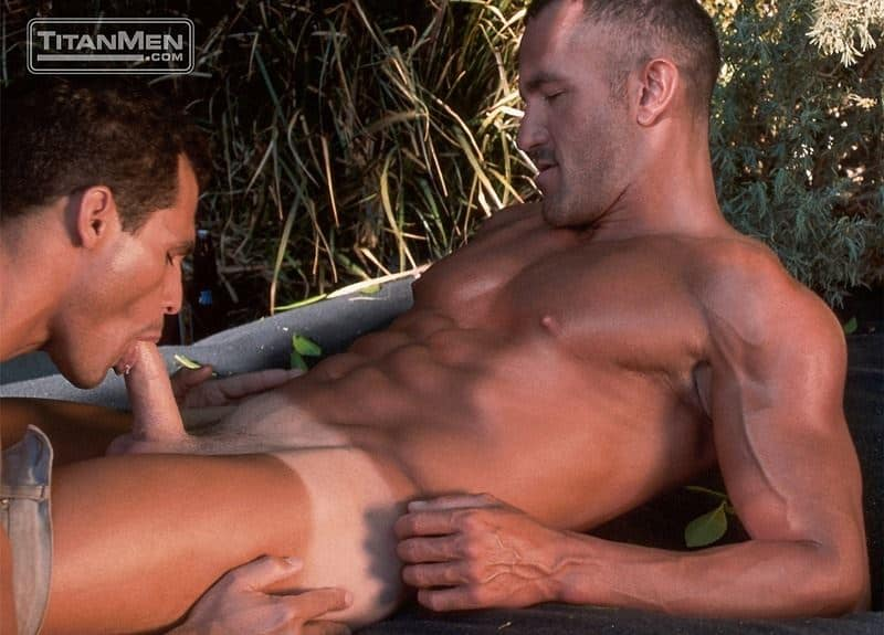Michel D'Amours's huge thick dick fucks muscled hunk Rich Ryan's hot bubble butt
