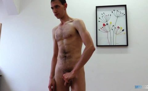 Hot good looking straight dude first time anal sex sucks my big uncut cock at Dirty Scout 241